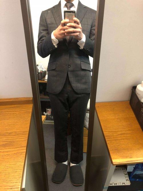 スーツ 樫山